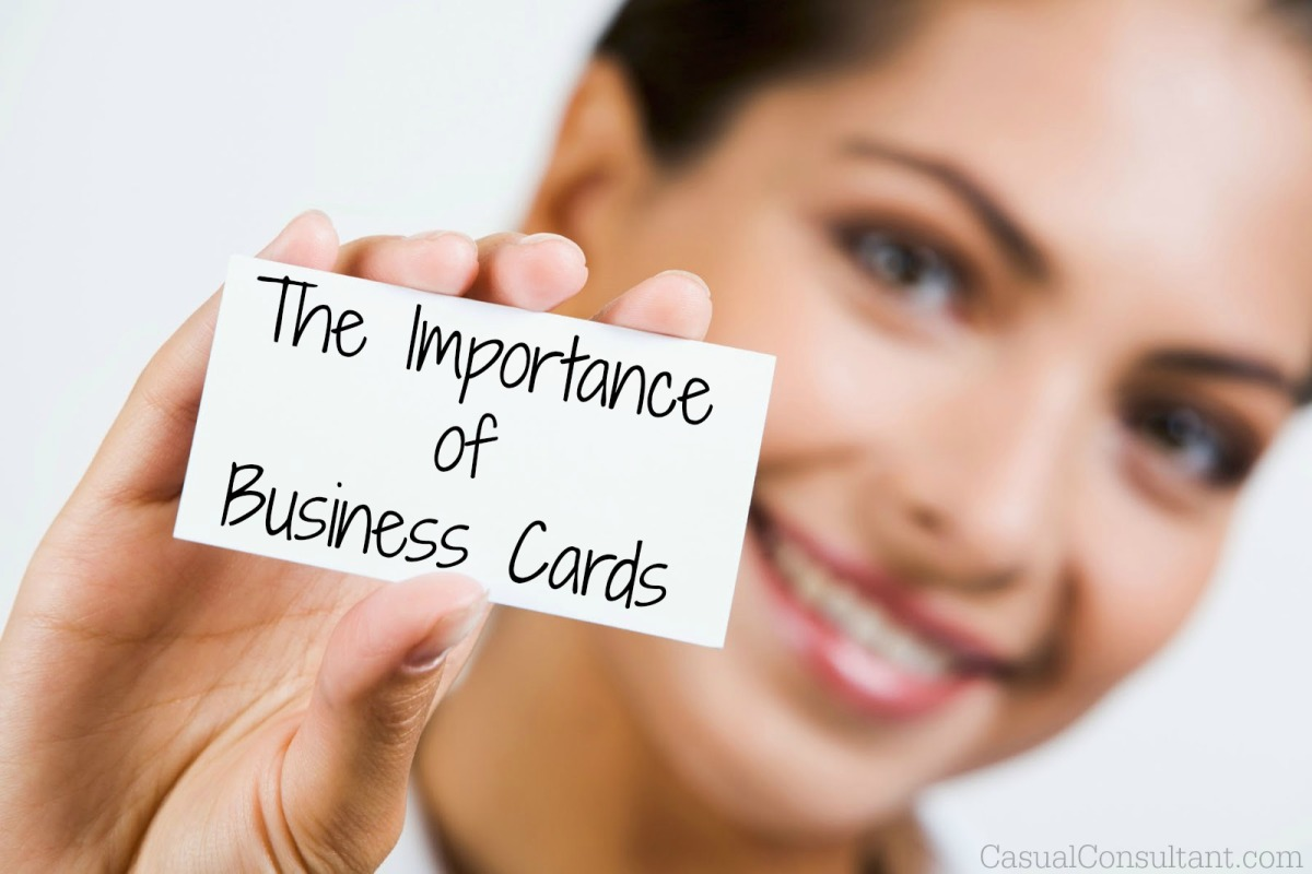 How Important are business cards? – Videsh Sookdeo | Freelance ...
